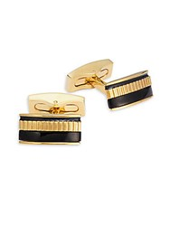 Hickey Freeman Whale Back Cufflinks Gold