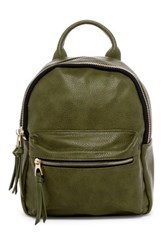 Urban Expressions Ace Vegan Leather Backpack Green