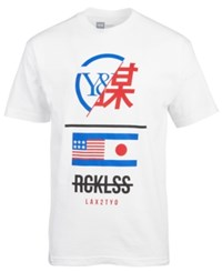 Young And Reckless Shinjuku Logo Print T Shirt White