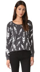 Chaser Skellington Sweatshirt Black