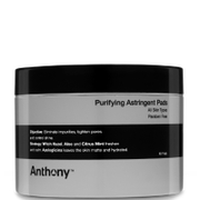 Anthony Logistics For Men Astringent Oil Control Toner Pads