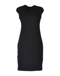 Fabrizio Lenzi Short Dresses Black