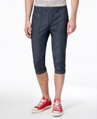 American Rag Men's Cropped Joggers Only At Macy's Chambray