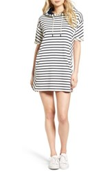 Barbour Dive Stripe Terry Hooded Dress
