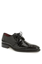 Men's Mezlan 'Marini' Alligator Leather Derby Black