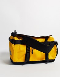 The North Face Base Camp Extra Small Duffel Bag In Yellow