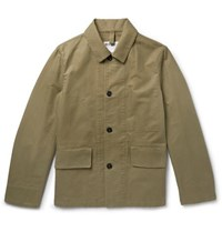 Margaret Howell Mhl Cotton Drill Jacket Army Green