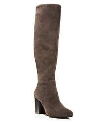 Vince Camuto Sashe Slouch High Shaft High Heel Boots Bloomingdale's Exclusive Moonstone Grey