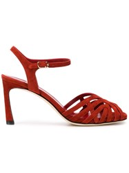 Marskinryyppy Russet Sandals Red