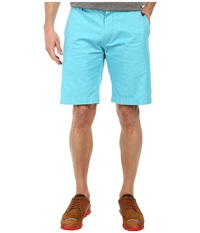 Lacoste Classic Fit Bermuda Short 10 Corsica Aqua Men's Shorts Blue