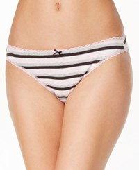 Charter Club Pretty Cotton Bikini