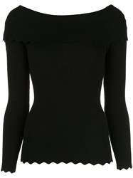 Milly Knitted Top Black