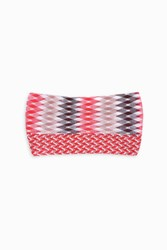 Missoni Women S Diamond Zigzag Double Headband Boutique1 Red