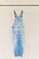Urban Renewal Vintage Lee Light Wash Denim Overall Assorted