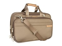 Briggs And Riley Baseline Expandable Cabin Bag Olive Tote Handbags
