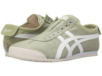 Onitsuka Tiger By Asics Mexico 66 Slip On Winter Pear White Shoes Green