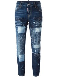 Dsquared2 'Cool Girl' Jeans Blue