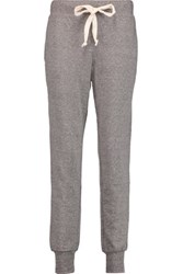 Current Elliott The Vintage Loopback Jersey Track Pants Gray
