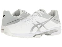 Asics Gel Solution Speed 3 White Silver Men's Tennis Shoes