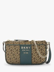 Dkny Noho Logo Demi Cross Body Bag Mocha Twilight