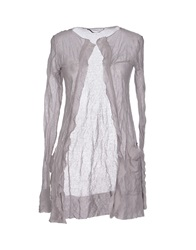 Private Lives Cardigans Dove Grey