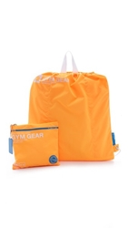 Flight 001 Go Clean Gym Gear Bag Neon Orange