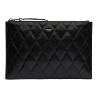 Givenchy Black Diamond Quilted Pouch
