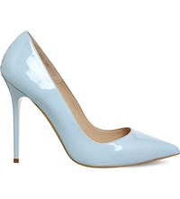 Office On To Point Patent Leather Courts Light Blue Patent