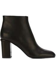 Marni Square Toe Boots Black