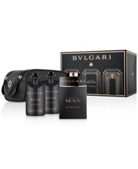 Bulgari Bvlgari 4 Pc. Man In Black Gift Set No Color