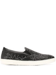 Jimmy Choo Grove Slip On Sneakers Black