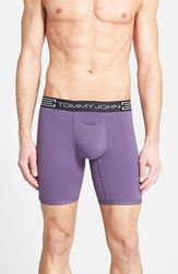 Tommy John 'Cool Cotton' Boxer Briefs Purple Halo