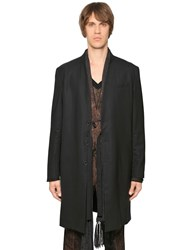 The Kooples Cool Wool Minimal Tailored Long Jacket