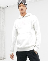Analog Crux Pullover Hoodie In White