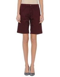 Cnc Costume National C'n'c' Costume National Denim Bermudas Maroon