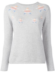 Chinti And Parker 'Intarsia' Jumper Grey