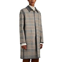 Martin Grant Reversible Cotton Blend Coat Gray