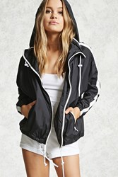 Forever 21 Colorblock Zip Windbreaker