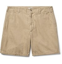 Eidos Morgan Cotton Oxford Shorts Sand