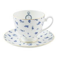 Mrs Moore's Vintage Store Alice Chintz Teacup And Saucer White