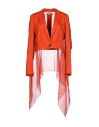 Jean Paul Gaultier Blazers Red