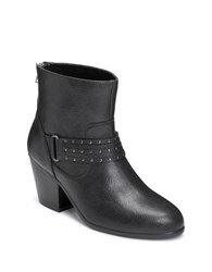 Aerosoles Longevity Studded Ankle Boots Black