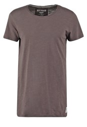 Tom Tailor Denim Long Fit Basic Tshirt Pavement Grey Anthracite