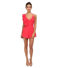 Style Stalker Bianco Romper Rose Red Women's Jumpsuit And Rompers One Piece Pink