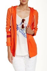 Roxy Sunshineworld Zip Hoodie Orange