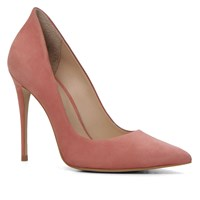 Aldo Cassedy Slip On High Heel Shoes Pink
