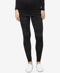 A Pea In The Pod Maternity Leggings Black