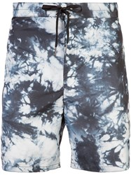 Cynthia Rowley New School Printed Board Shorts Blue