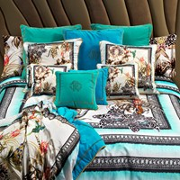 Roberto Cavalli Tropical Duvet Set 001 King