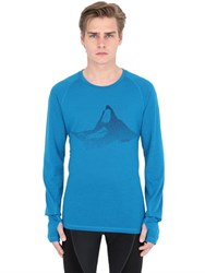 Odlo Livigno Revolution Warm Wool Blend Top